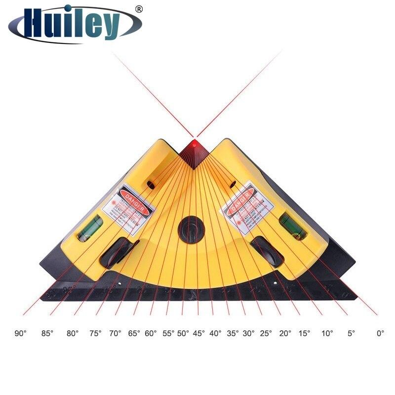 Rechten Winkel 90 Grad Vertikale Horizontale Laser Ebene Platz Projektion Laser Messung Werkzeuge Level Laser Mess Werkzeuge