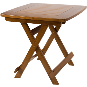 Square table simple portable table small square table outdoor table family table folding bamboo