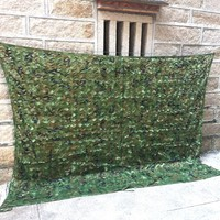 WELEAD Large Size Reinforced Camouflage Nets Military Woodland Jungle for Hunting Garden Shade Yard Outdoor Awning Hiding Mesh