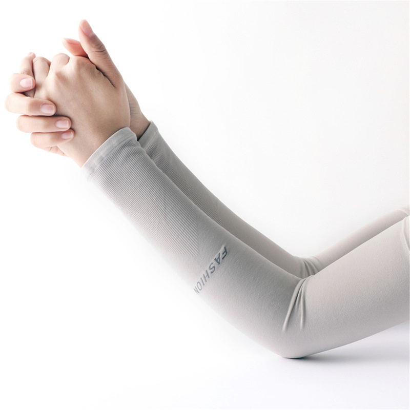 3 Pair Basketball Cycling Ice Fabric Running Arm Warmers Sun UV Protection Arm Warmers For Unisex Outdoor Fitness Sports Sleeves