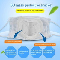 1pc Mask Cloth Cover Holder Washable Replaceable Anti-boring Wormwood Helath Care Inner Pad Bracket Masks Inner Sleeve Holder