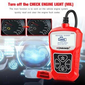 Image 3 - KONNWEI KW310 OBD ODB2 스캐너 범용 자동 진단 도구 전문 자동차 검사 엔진 코드 리더 자동차 ELM327