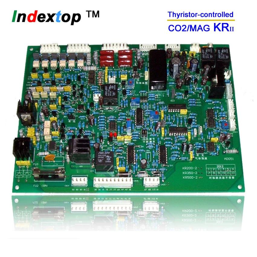 YDT KR-350, KR-500 PCB / řídicí deska / tyristor Svařovací stroj MIG / MAG CO2 plynový štít / karta svařovacího stroje / deska plošných spojů