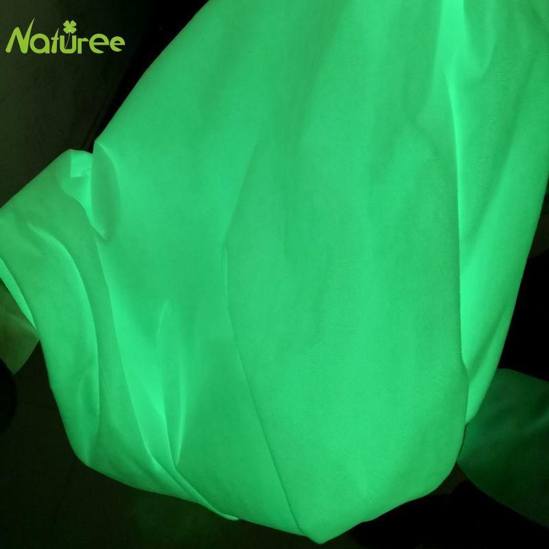 Светящаяся кристаллическая бархатная супермягкая ткань, светящаяся ткань, светящаяся бархатная ткань для игрушек, кукол, 50 см * 150 см