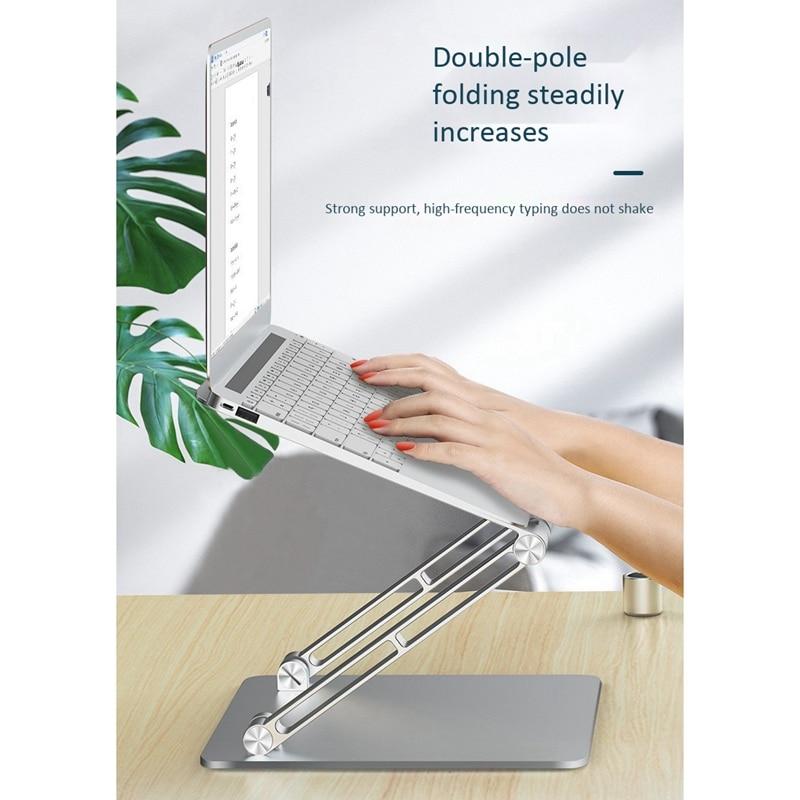 suporte de alumínio ajustável compatível com todos