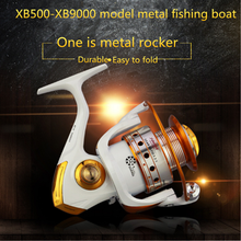 High Quality XA/XB 500-9000 Spinning Reel Double Spool Fishing Reel 5.2: 1BB Metal Spool Fishing Reels Carp Fishing Sea Fishing ice fishing reels ball bearings high quality reels mini fishing carp fishing reel spool fishing tackle gear