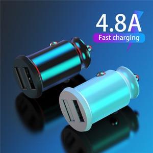 Tkey Dual USB Car Charger 5A F