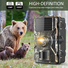 Hunting-Camera Motion-Activated Night-Vision Wildlife Infrared 12MP 1080P IP66 Waterproof