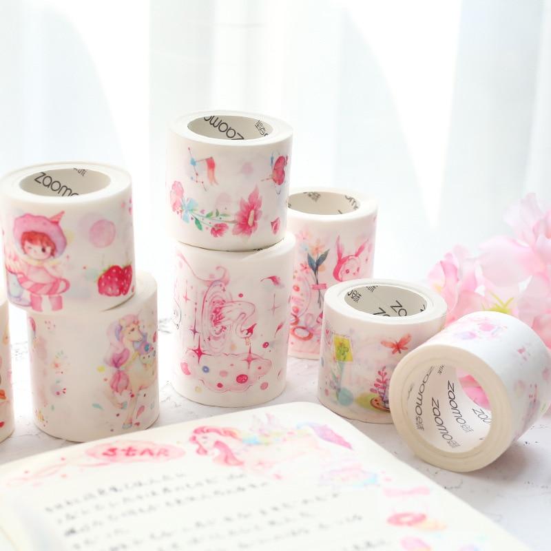 AngelHere Store 20 Pcs/lot Kawaii Washi Tape Dream Masking Tape Lovely Cute Girls Tape DIY Scrapbooking Stationery School Supply