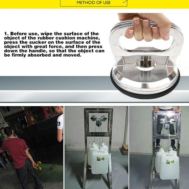Стеклянные Подъемные Инструменты из алюминиевого сплава сверхмощный подъемник с рукояткой из стекла легкий подъемник напольная плитка кирпич автомобиль вмятина инструмент для ремонта
