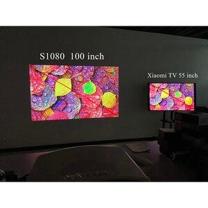 Image 5 - Touyinger s1080 C2 full HD 1080p LED digitals proiettore home cinema cinema 200 pollici schermo con 4D Keystone