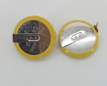 4 sztuk partia Panasonic CR2032 3V przycisk baterii H typ poziomy z 2 szpilki lutownicze CR 2032 baterie litowe komórki tanie i dobre opinie 200mah 20 0*6 0*0 77mm Li-ion