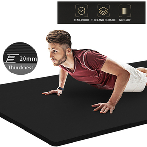 20mm Extra Thick NBR Yoga Mat 200*90cm High Quality Exercise Sport Mats For Gym Home Fitness Tasteless Pads Exercise Gymnastics