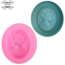 Cake-Decorating-Tool Candy-Mold Chocolate Character-Head Silicone Doinb Soft