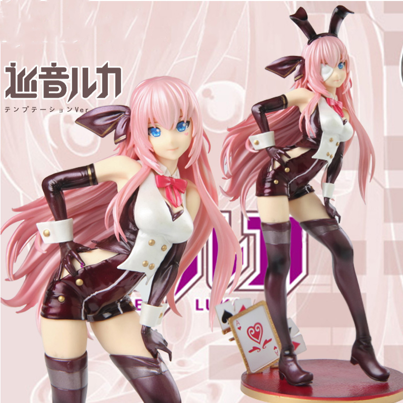 26 Cm Hatsune Miku Megurine Luka Soul Figure Pvc Collection Model Toy Action Figure For Friends Xmas Gift B19