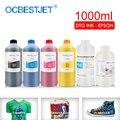 Tinta para ropa de tinta textil DTG de 1000ML para DX5 DX6 DX7 DX10 para Epson 1390 R1900 R2000 F2000 f2100 (7 colores opcionales)