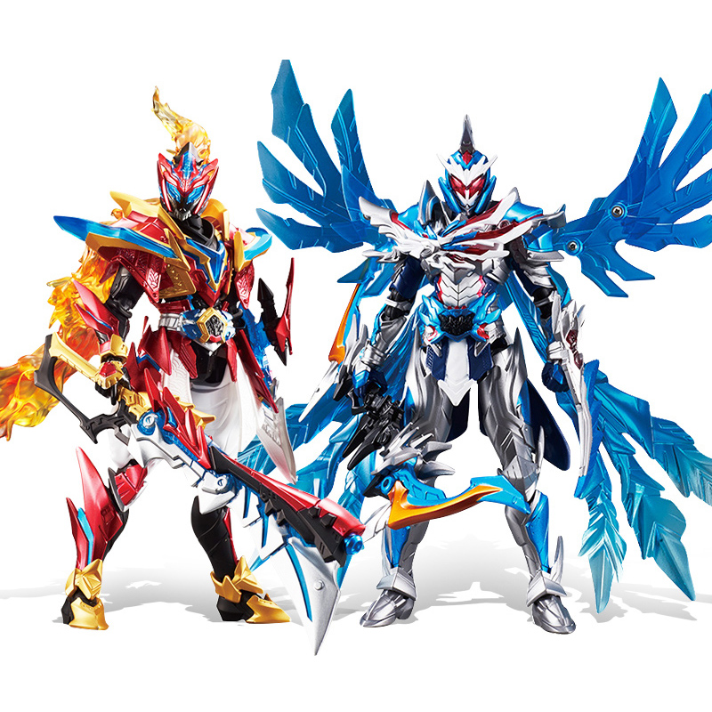High 20cm ABS ARMOR HERO Deformation Robot Action Figures With Weapon And Holder Transformation Toys For Children Gift