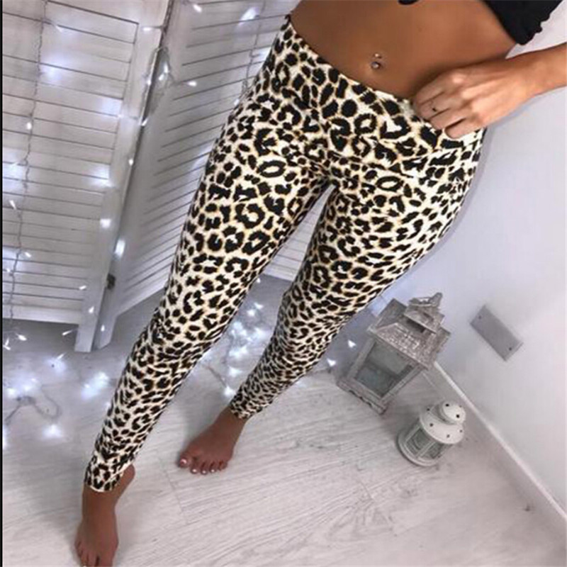 Arrival Womens Ladies Leopard Snake Animal Print High Waist Stretchy Leggings Skinny  Pants