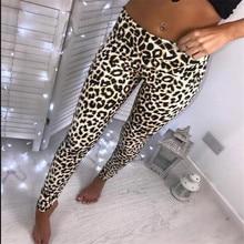 arrival Womens Ladies Leopard Snake Animal Print High Waist Stretchy Leggings Skinny  Pants цена 2017