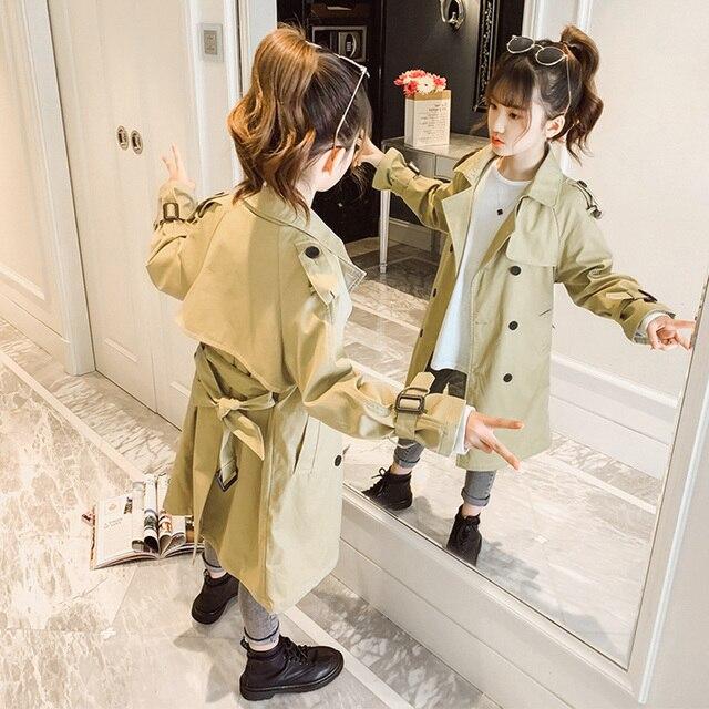 Girls Long Coat 6