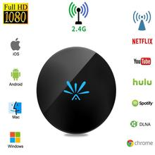 Portable Wireless G6 Miracast Dongle 1080P HD Media Adapter WiFi Displa