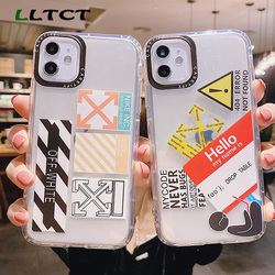 На Алиэкспресс купить чехол для смартфона lltct tpu silicone thin cover case for iphone 11 11pro x xs xsmax fashion soft cover for 7 8plus xr phone case clear cover capa