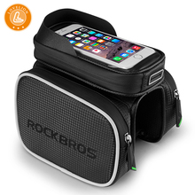 LOVELION BICYCLE BAGS CYCLING BIKE FRAME IPHONE HOLDER PANNIER MOBILE PHONE BAG CASE POUCH