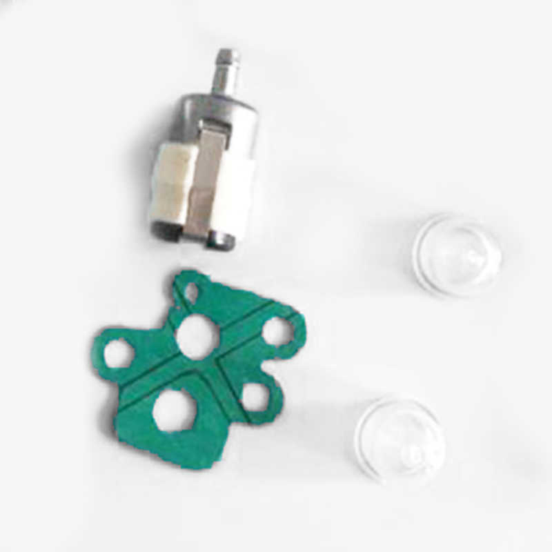 คาร์บูเรเตอร์ชุดสายน้ำมันเชื้อเพลิง Primer Bulb ปะเก็นเปลี่ยนสำหรับ KAWASAKI 15004-2044 ชุด