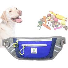 Поясная Сумка для дрессировки собак, поводок для дрессировки собак, водонепроницаемая Спортивная поясная сумка с карманами для собак, товары для домашних животных