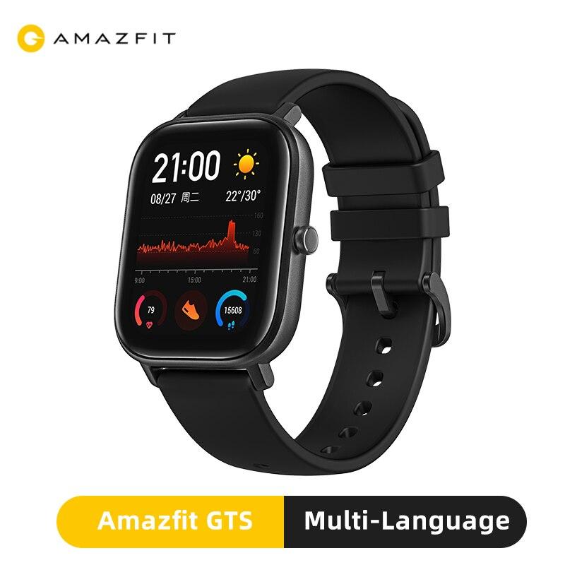 Global Versie Huami Amazfit Gts Smart Horloge 5ATM Waterdicht Top Merk Luxe Zwemmen Gps Smartwatch 14 Dagen Batterij Horloges