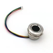 R503 novo anel de duas cores luz indicadora led controle de acesso módulo de impressão digital redonda arduino