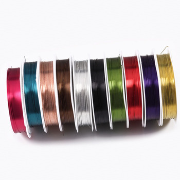 1 Roll New Copper Wire DIY Craft Beading Jewelry Making Cord String AccessoriesBracelet&Necklace For