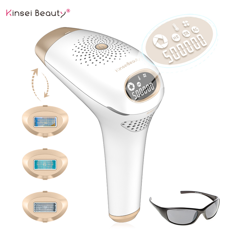 IPL laser hair removal machine depilador a laser IPL Laser Epilator Permanent Hair Removal Electric depilador  500000 Flashes-in Epilators from Home Appliances