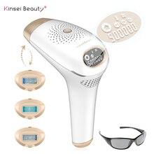 IPL macchina di rimozione dei capelli del laser depilador un laser IPL Epilatore Laser Permanente di Rimozione Dei Capelli Elettrico depilador 500000 Flash