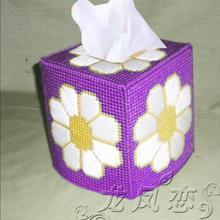 12x12x14 см картонная коробка для хранения цветов, коробка для салфеток, Набор для вышивания, набор для рукоделия ручной работы, набор для вязания крючком, принадлежности для рукоделия