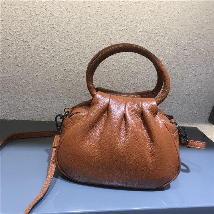 Hobos bolsa para mulher 2020 novo couro