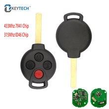 Okeytech 3/4 кнопки с 315 МГц 433 Мгц дистанционный Автомобильный