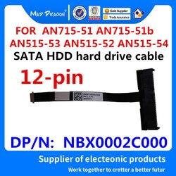 Novo original sata ssd hdd disco rígido cabo conector de disco para acer AN715-51 AN715-51b AN515-53 AN515-52 AN515-54 nbx0002c000