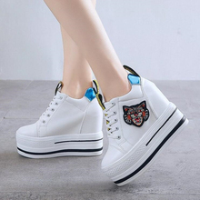 Women Platform Chunky Sneakers 10cm High