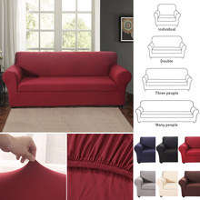 1/2/3 Seat Sofa Couch Cover Chair Throw Furniture Protector Reversible Washable Removable Armrest Slipcovers Pet Kids Mat(China)