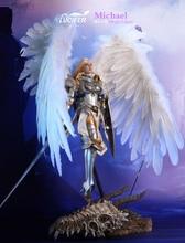 LUCIFER Seamless Female Body Wings of Dawn Archangel Michael 1/6 FIGURE w/ BASE
