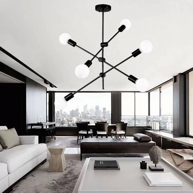 Dining Room Pendant Lights Nordic E27 Bedroom Restaurant Kitchen Vintage Pendant Lamp LED Modern Hanging Light