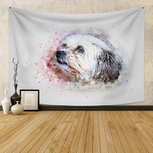 Wall Hanging Tapestry With Animal Boho Decor Background Wall Tapestry  Wall Carpet  Dorm Decor for Bedroom Wall Home boho Decor