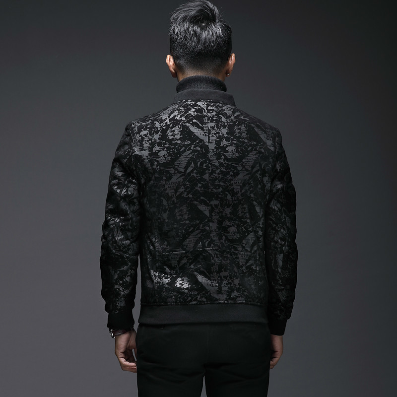 Men's Genuine Leather Jacket Short Slim Fit Sheepskin Leather Coat Vintage Bomber Jacket Real Leather Jackets L18-4801