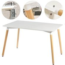 110*60*75cm Dining Table Nordic Minimalist Style Non-slip Table Legs For Living Room Dining Apartment Coffee Table HWC