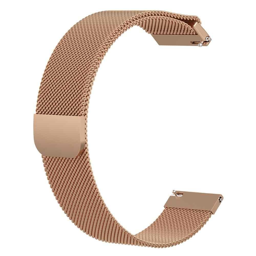 ממילאנו לולאה נירוסטה להחליף רשת להקת רצועת עבור huawei שעון gt 2e/שעון GT 2 GT2 E 46mm צמיד רצועת השעון