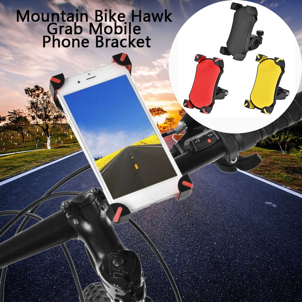 Mountain <font><b>Bike</b></font> Motorcycle <font><b>Phone</b></font> <font><b>Holder</b></font> 360Rotatable Handlebar Bicycle <font><b>Phone</b></font> <font><b>Holder</b></font> Rearview Mirror Mobile Cell <font><b>Phone</b></font> Stand <font><b>Holder</b></font> image