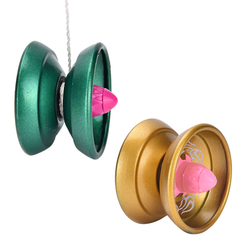 Yoyo Professional Hand Playing Ball Yo yo Yo-yo High Quality Metal Alloy Yoyo Classic Toys Magic Gift For Children