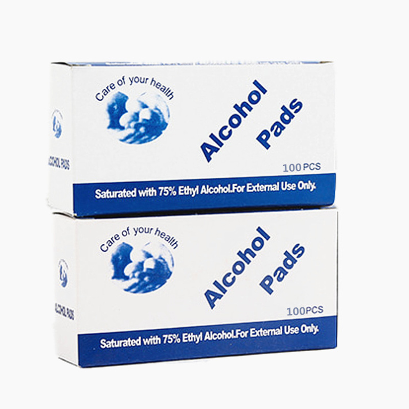 Portable Alcohol Wipes With Flexible Non Woven Fabric For Skin And Face Use