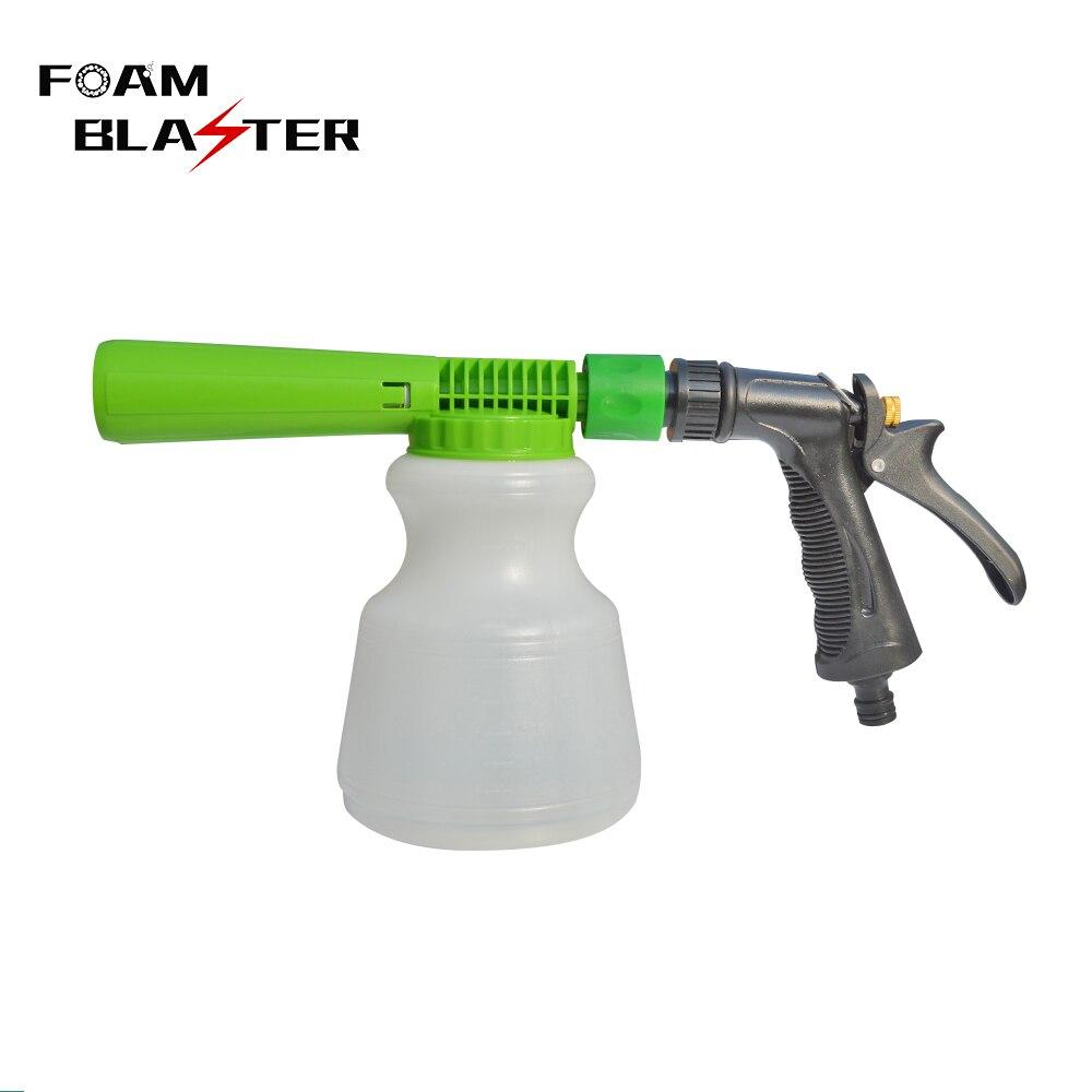 Pistola de espuma para lavar de baixa